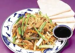 Mushu Chicken Panquecas Chinesas