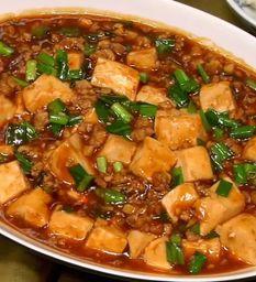 Tofu com Carne Moída ao Molho Apimentado