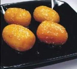 Porção de Abacaxi Caramelada 4 Unidades