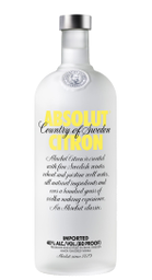 Vodka Absolut Citron 750 mL