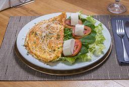 Omelete Mix de Cogumelos