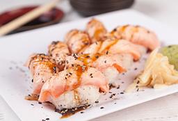 Sushi Salmão Maçaricado - 5 Peças