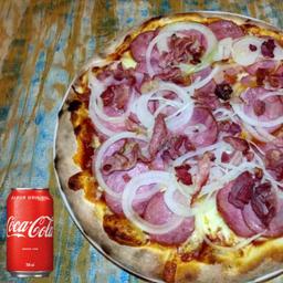 Combo Pizza Broto e Refrigerante
