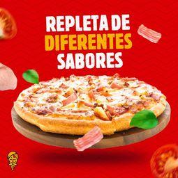 Pizza Grande + Doce Pequena + Refri 1L