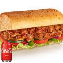 Combo Frango Teriyaki e Coca-Cola 350ml