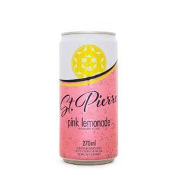 Água Tônica St Pierre Pink Lemonade Garrafa 200 mL