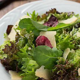 Carpaccio com Salada Fresca