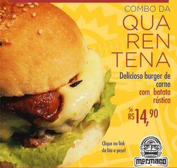 Hambúrguer de Carne Quarentena