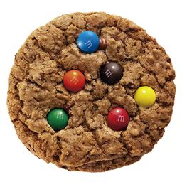 Cookie Tradicional com M&m's