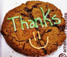 Cookie Decorado – Thanks