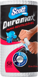Pano Reutilizável Duramax 58 Und