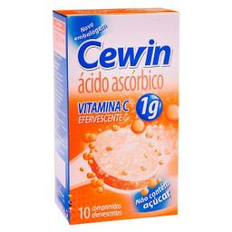 Cewin Sanofi Vitamina 1G 10 Comprimidos Efervescentes