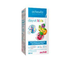 Suspensão Oral Dayvit Kids Sabor Tutti Frutti 120 Ml
