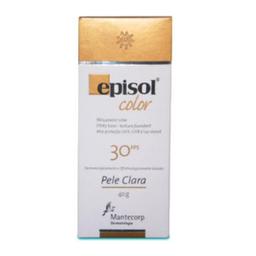 Episol Protetor Solar Color Pele Clara Fps 30