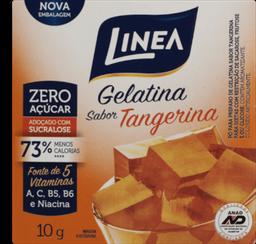 Linea Gelatina Em Po Zero Tangerina