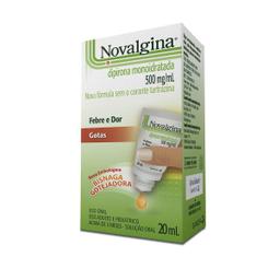 Novalgina 500 Mg Solução Oral Frasco Gotejador