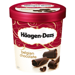 Sorvete Haagen Dazs Sabor Chocolate 473 mL