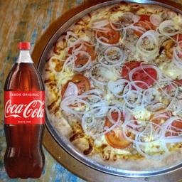 Pizza de Atum + Coca Cola 2L