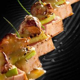 Atum Semi-Grelhado com Foie Gras