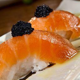 Sushi de Salmão Gravlax