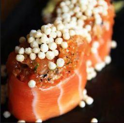 Sushi de Salmão Especial Crunch