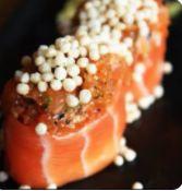 Sushi de Spicy Tuna Crunch