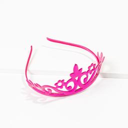 Tiara Infantil de coroa princesa pink