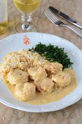 Camarão ao Curry - Individual