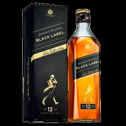 Whisky Johnnie Walker Black Label Garrafa 1 L
