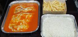 Mignon Empanado à Parmegiana