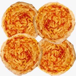 4 Massas de Pizza Pré-Assadas