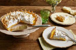 Torta de Limão - Fatia