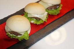 Mini Hambúrguer - 10 Unidades