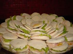 Mini Sanduíche Árabe - 10 Unidades