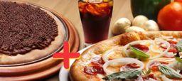 Combo Pizza Grande + Broto Doce