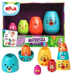 Brinquedo Para Bebê Matrioska Bichitos