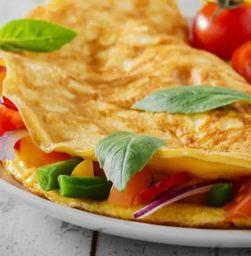 Omelete de Pizza