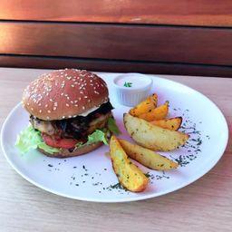 Combo Hambúrguer de Maminha