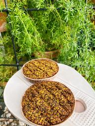 Quibe de Abóbora e Quinoa recheado com Queijo de Cabra