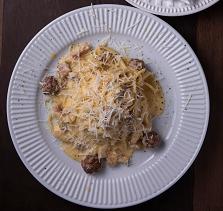 Spaghetti à Carbonara