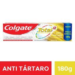 Creme Dental Colgate Total 12 Anti Tártaro 180 g