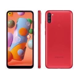 Smartphone Galaxy A11 Vermelho