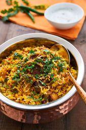 Chicken Briyani With Basmaty