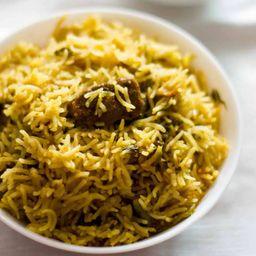 Mutton Briyani With Basmaty Rice