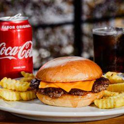 Afonso Cheese Burger + Batata + Refri