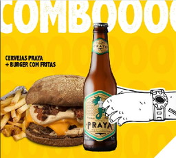 Escolha seu Burger + Praya 330ml