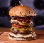 Duplo X Burger Especial com Bacon