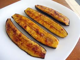 Espeto de Banana Brulee