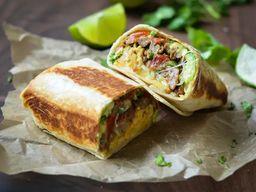 Burrito Vegano - Sem Queijo