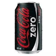 Coca-cola zero Lata